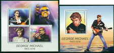 George Michael In Memoriam Music Madagascar MNH stamps set