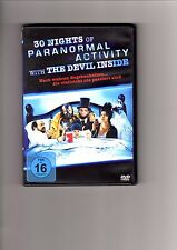 30 Nights of Paranormal Activity with the Devil Inside / DVD #11638