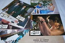 johnny hallyday CONSEIL DE FAMILLE   ! jeu photos cinema  lobby card