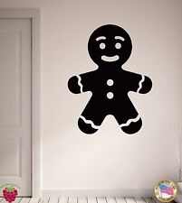 Wall Stickers Vinyl Decal Ginger Man Cookie Fairytale Funny Decor  (z1957)