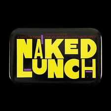 """1992 Naked Lunch 1 3/4"""" x 2 3/4"""" Movie Pinback Button"""