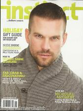 Instinct gay magazine Nicholas McGrath Holiday gift guide Years best and worst