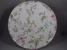 "RARE WEDGWOOD SWEET PLUM ROUND 12 3/4"" SERVICE TRAY FOR TEA SET, NEW."