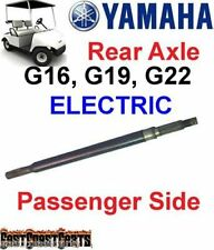 Yamaha Golf Cart Rear Axle G14, G16, G22 Electric  (Passenger side) JR1-G6512
