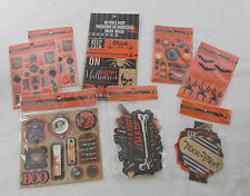 Witch's Dust Halloween Scrapbook Embellishments Recollections Die Cuts Stickers