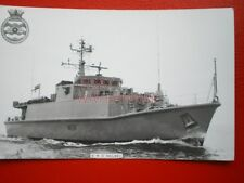 PHOTO  HMS WALNEY (M104) WAS A SANDOWN-CLASS MINEHUNTER OF THE BRITISH ROYAL NAV
