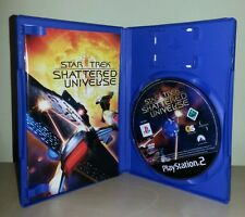 Star trek shattered universe ps2 playstation 2 pal sony videogioco console