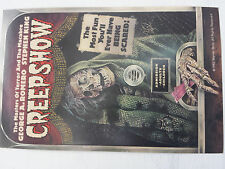Stephen King Creep Show Ticket signed by him & date for the premier showing 1982