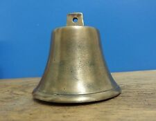 SMALL ANTIQUE No 10 BRASS BELL