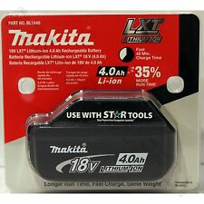 Makita BL1840 18V 4.0Ah LXT Li-Ion Battery Genuine Star battery