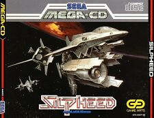 # Sega Mega-CD-SILPHEED-come nuovo/mint-CON SPINECARD #