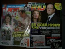 VSD & VOICI AOUT/SEPTEMBRE 2014 François Hollande/Trierweiler/Gayet