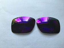 Inew Purple polarized Replacement Lenses for Oakley Big Taco