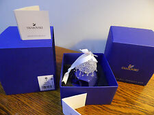 "SWAROVSKI"" Annual Edition 2016 Christmas Bell Ornament 5221235 *BRAND NEW *MINT"