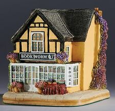 Lilliput Lane British Collection Bookworm Powys Wales 7cm L3706 UK Made