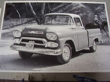 1958 1959 ? GMC PICKUP  TRUCK   12 X 18 LARGE PICTURE / PHOTO