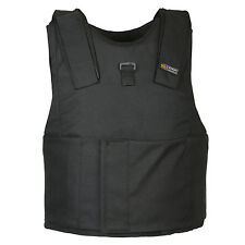 Light Weight Concealed Body Armor Bullet Proof Black Vest (M) NIJ level IIIA 3A