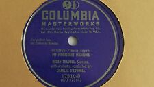Helen Traubel - 78rpm single 10-inch – Columbia #17510-D