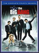 THE BIG BANG THEORY SEASON SERIES 4 COMPLETE *BRAND NEW DVD*