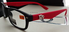 DG READING  readers GLASSES WOMEN LADIES  MEN black & red s   +3.00