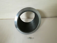 "JUNO LIGHTING 614B-SC 6"" SLOPED ROUND RECESSED TRIMMED FIXTURE IC RATED BLACK"