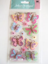 JOLEE'S BOUTIQUE STICKERS - PAISLEY BUTTERFLY REPEATS
