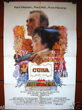 Cuba {Sean Connery} 1st Sheet Original 41x27in Movie Poster 70s
