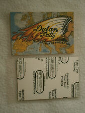 Bob Dylan & Tom Petty Temples In Flames Laminated Europe 1987 Tour Pass