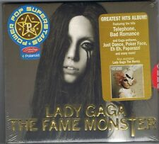LADY GAGA THE FAME MONSTER + REMIX PHILIPPINES PROMO STICKERS RARE CD SEALED LOT