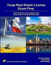 Texas Real Estate License Exam Prep : All-In-One Review and Testing to Pass...