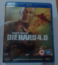 Die Hard 4.0   (Very Good)(UK Blu Ray) Free Post