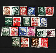 1935 Germany Lot of 21 Clean Used Sound 18284