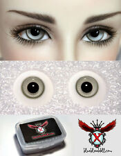 1/3 1/4 bjd 12mm light grey color high quality glass doll eyes dollfie #JS-17