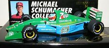 Michael schumacher minichamps 1:43 jordan F1 1991 gp belgique 1991 F1 debut