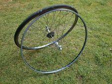 Road wheels GIPIEMME CAMPAGNOLO RECORD  on rims AMBROSIO MONTREAL 28'
