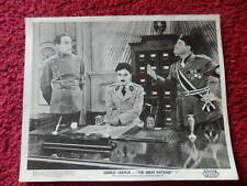 CHARLIE CHAPLIN THE GREAT DICTATOR PHOTOGRAPH
