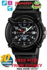 AUSSIE SELLER CASIO WATCHES HDA-600B-1B HDA600B HDA600 12-MONTH WARRANTY