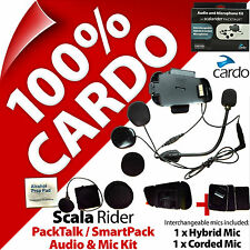 Cardo Scala Rider Audio & Mic Accessory Kit PackTalk / SmartPack Helmet Intercom