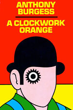 "A Clockwork Orange Poster Anthony Burgess  Movie Art Print Poster 24"" x 36"""