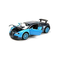 style 1:32 Bugatti Veyron Alloy Diecast car model collection light&sound Blue