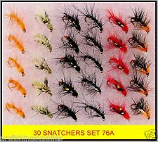 30 Trout Grayling Fly Fishing Flies FOR rods reels line S76A