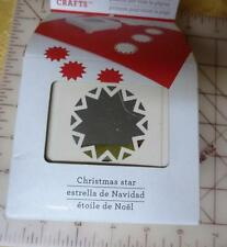 NIP Martha Stewart Punch All Over the Page Christmas Star  Holiday