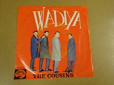 45T SINGLE PALETTE / THE COUSINS - ANDA / WADIYA