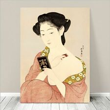 "Beautiful Japanese GEISHA Art ~ CANVAS PRINT 8x12"" Makeup"