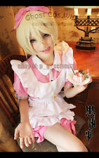 Black Butler Alois Trancy Kuroshitsuji Wig Anime Cosplay Party Hair + Free Cap