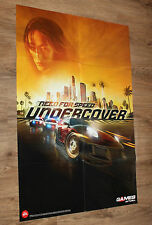 Killzone 2 & Need for Speed NFS Undercover very rare Poster 56x80cm