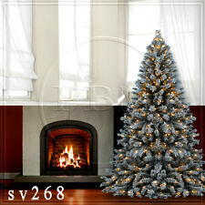 Christmas 10'x10' Computer-painted Indoor Scenic background backdrop SV268B881