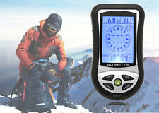 8in1 Electronic Digital Compass Altimeter Barometer Thermometer Clock Calendar