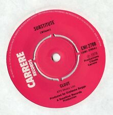 """Clout - Substitute / When Will You Be Mine 7"""" Single 1978"""