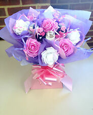 LADIES GIFT SOCK BOUQUET BIRTHDAY MOTHERS DAY REALLY PRETTY GIFT